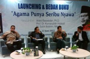 Launching dan Bedah Buku baru Prof Komaruddin Hidayat: