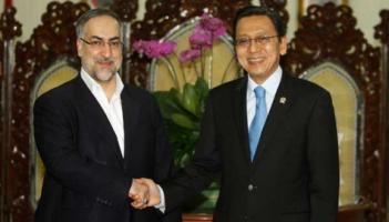 Wapres RI-Boediono dengan Wapres RI Iran-Ebrahim Azizi