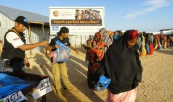 Aktivitas Global Qurban ACT di Mogadishu, Somalia