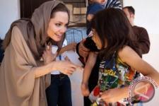 Angelina Jolie saat di Suriah