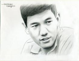Lukisan Soe Hok Gie