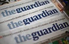 Surat kabar The Guardian (foto:faz.net)
