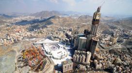Pembangunan banyak gedung di sekitar Masjidil Haram
