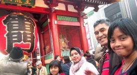 Turis Muslim yang berkunjung ke Jepang
