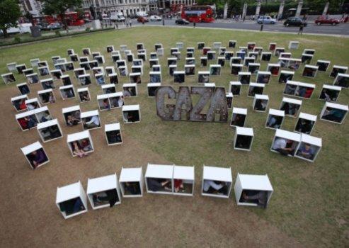 Protes di London