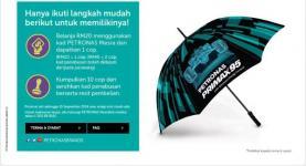 Iklan payung Petronas