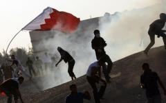 Demonstran Bahrain