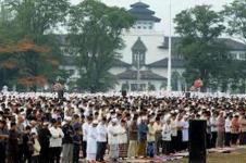 Shalat ied di Bandung