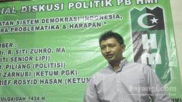 Ketua HMI, M. Arief Rosyid Hasan.