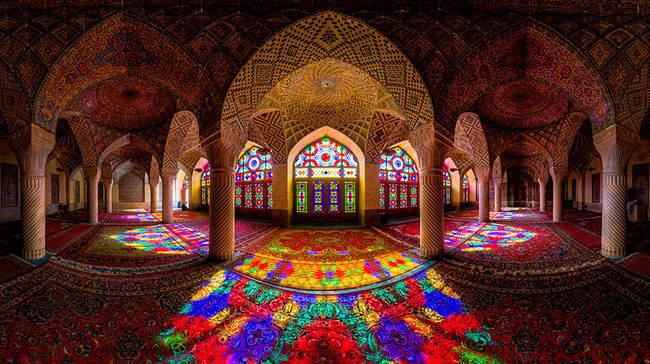 6.) Nasir Al-Mulk Mosque, Shiraz, Iran
