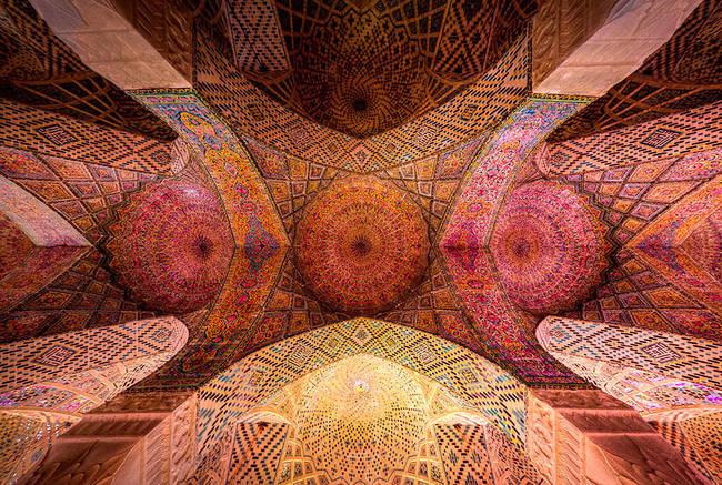 5.) Nasir Al-Mulk Mosque, Shiraz, Iran