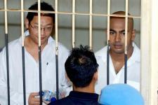 Terpidana mati Andrew Chan and Myuran Sukumaran.