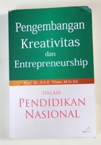 Buku karya Prof. Dr. H.A.R Tilaar, M.Sc. Ed.