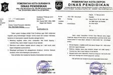 Surat edaran dinas pendidikan