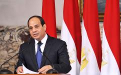 Presiden Mesir  Abdel Fattah al-Sisi