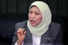 Menteri Hukum Malaysia, Nancy Shukri.