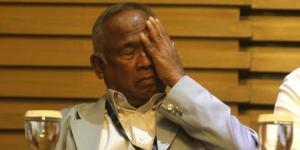 Ketua sementara KPK, Taufiequrachman Ruki.