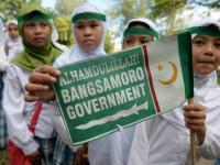 Pendukung gerakan Moro.