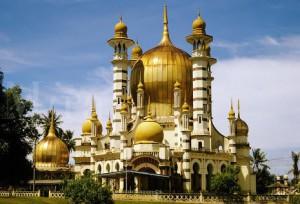 masjid ubudiah, perak malaysia