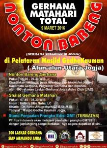 100 Laskar gerhana dari Rukyatul Hilal Indonesia dan Jogja Astro Club siap memandu Nonton Bareng Gerhana Total di Jogjakarta