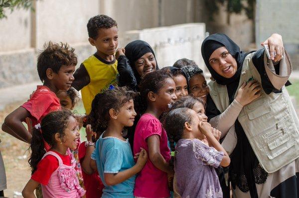 dr. maali wanita pejuang kemanusiaan dari Kuwait